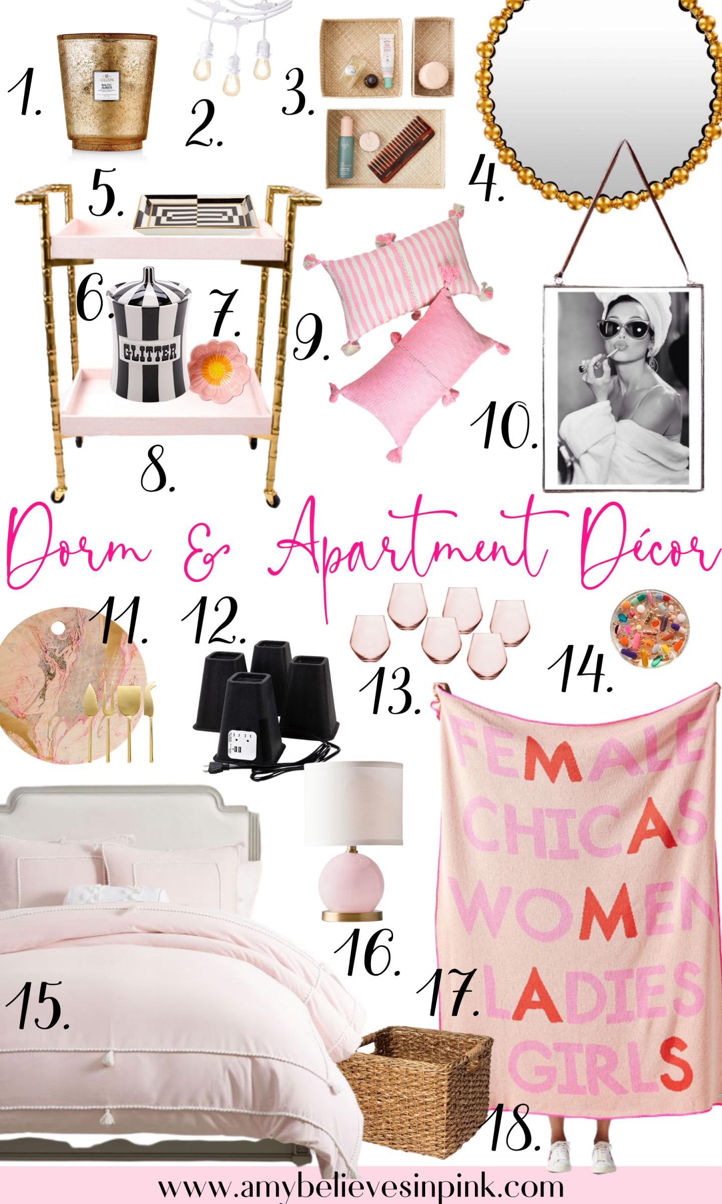Dorm and apartment décor tips