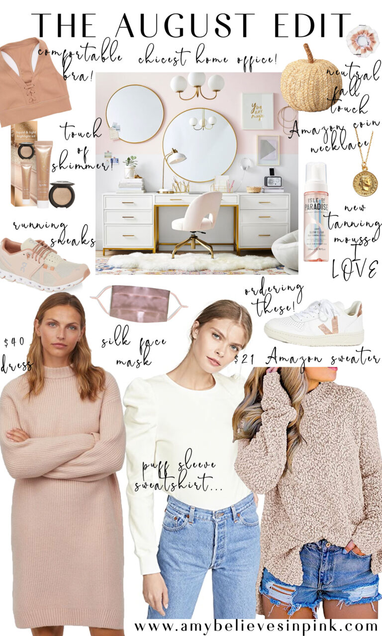 Cozy fall neutral outfits and work from home space
