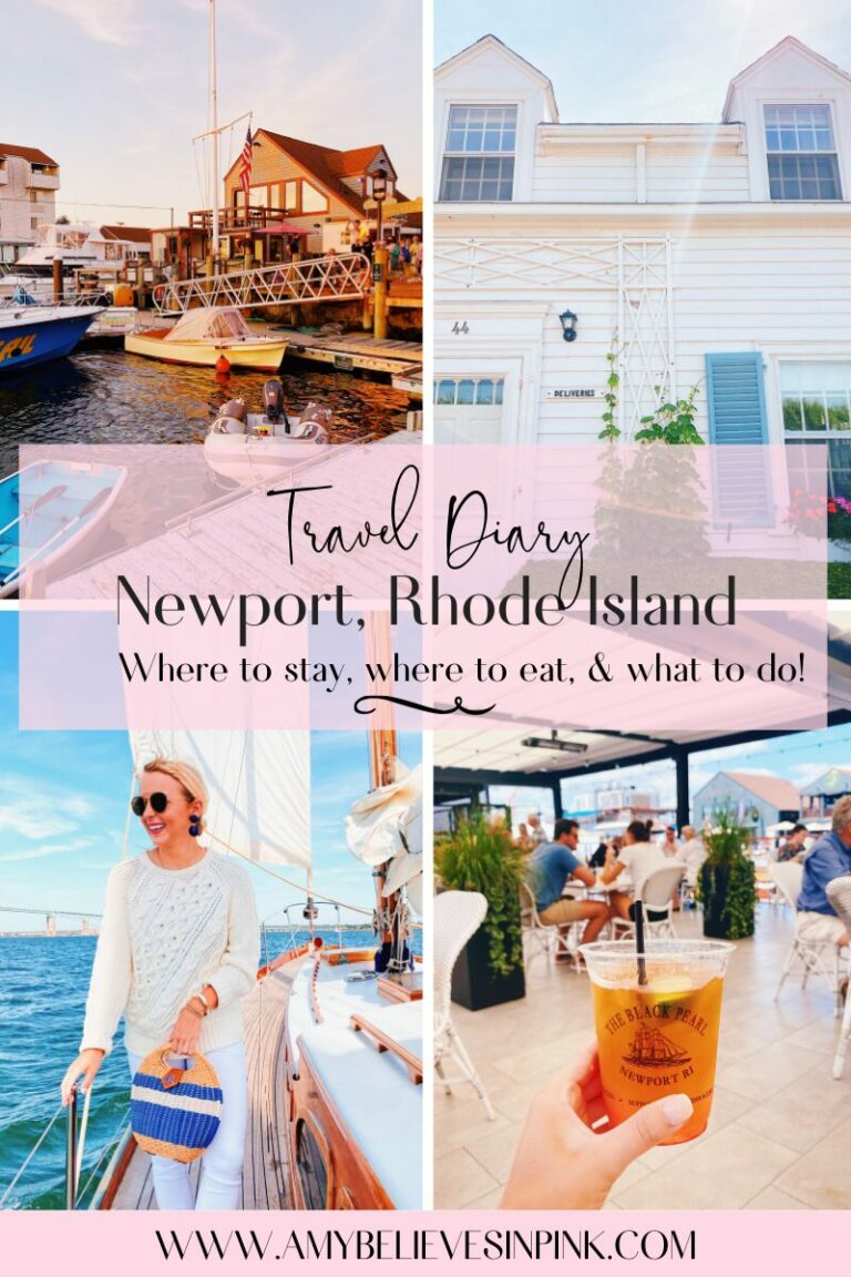 Newport, Rhode Island travel guide and what to do in Newport, RI for a girls trip
