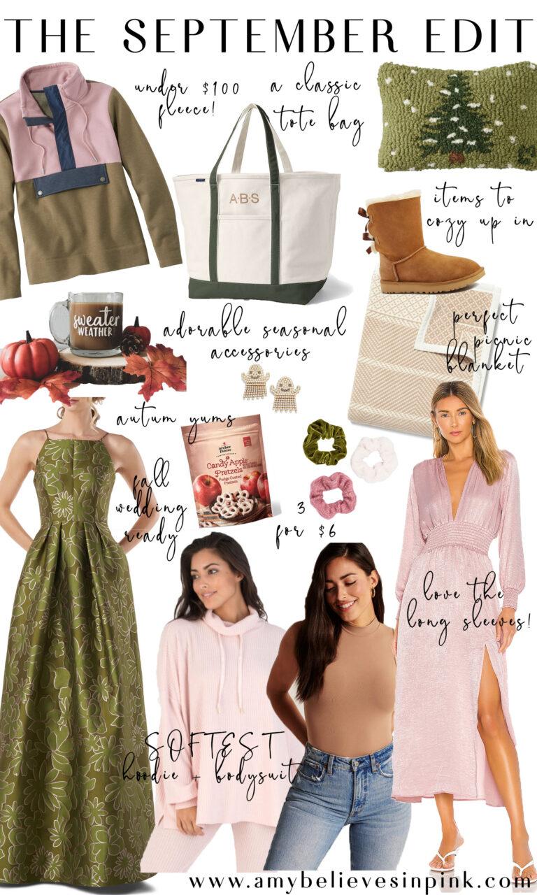 September Edit fall Target and fleece favorites