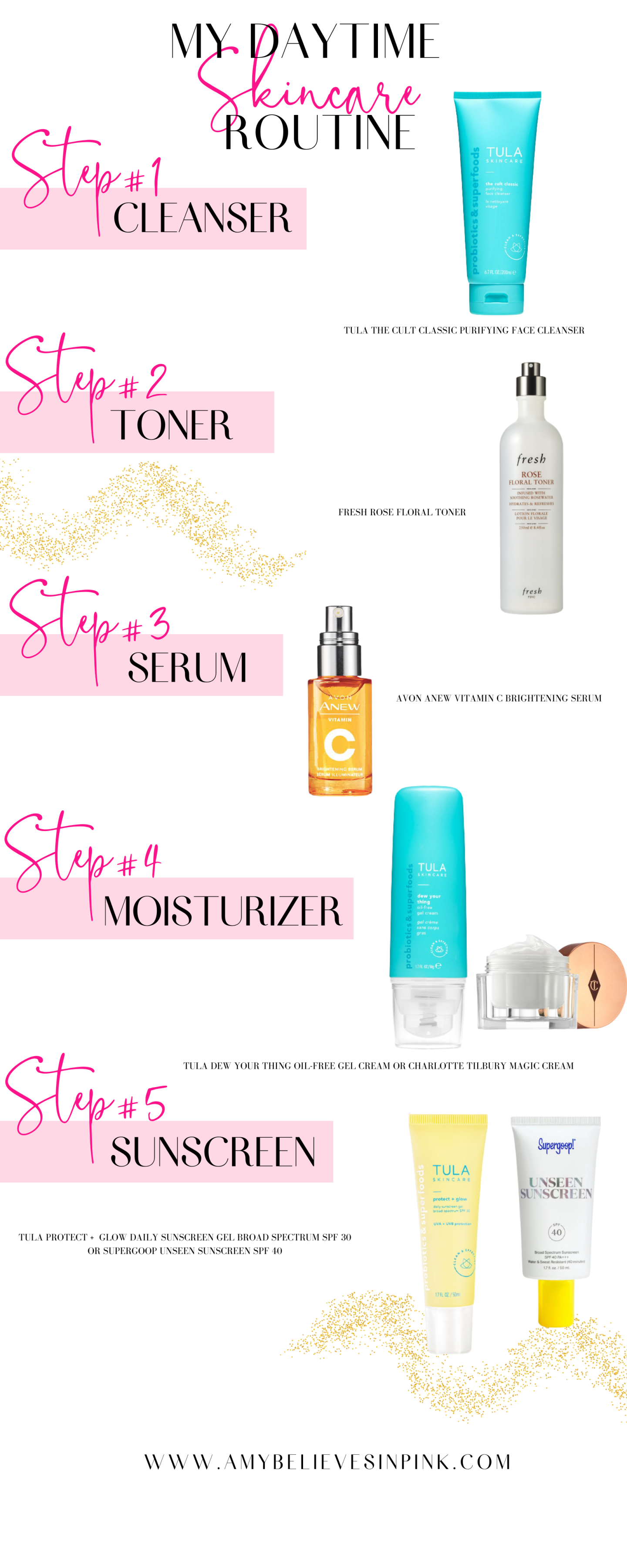 Skincare routine for women in their 20s