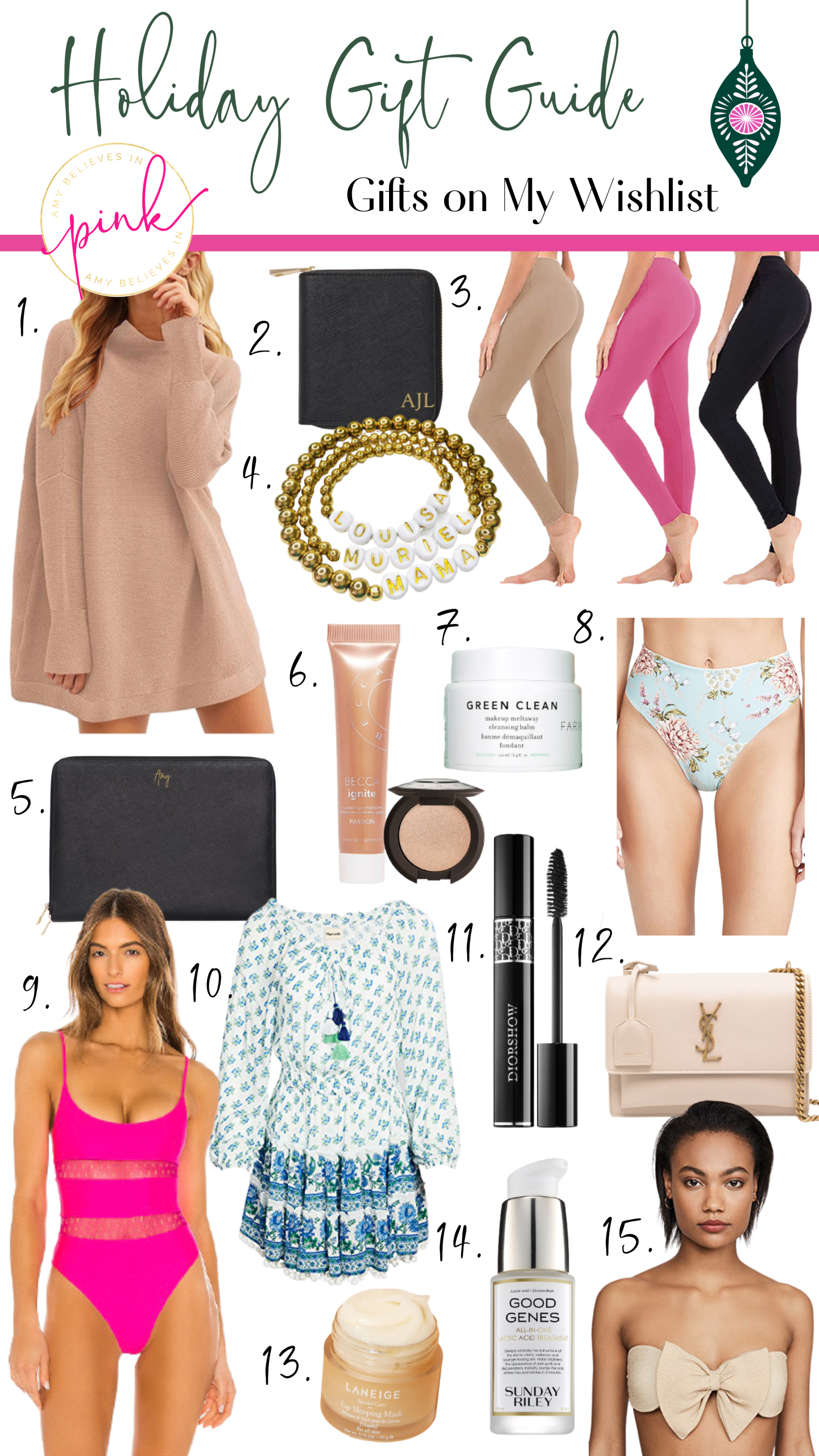 Holiday Gift Guide My Wishlist
