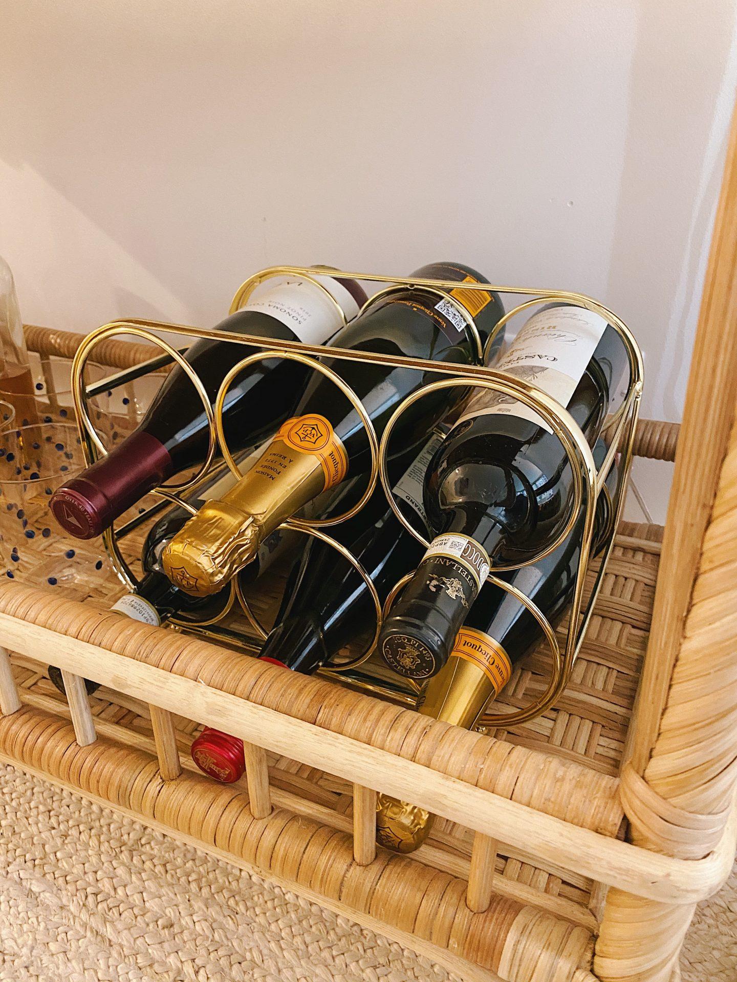 Amazon Prime Home Décor Finds Wine Rack
