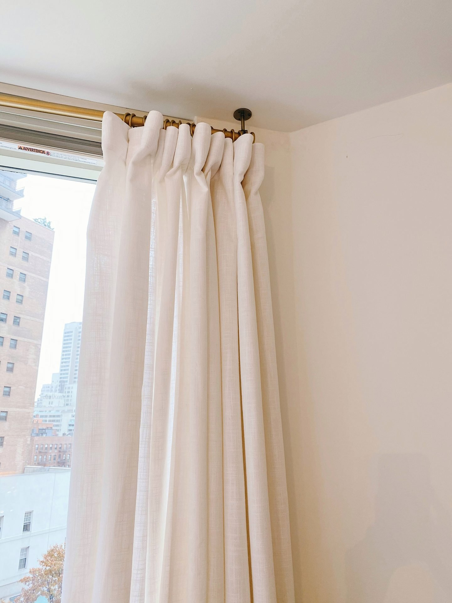 Amazon Prime Home Décor Finds Faux Linen Curtains
