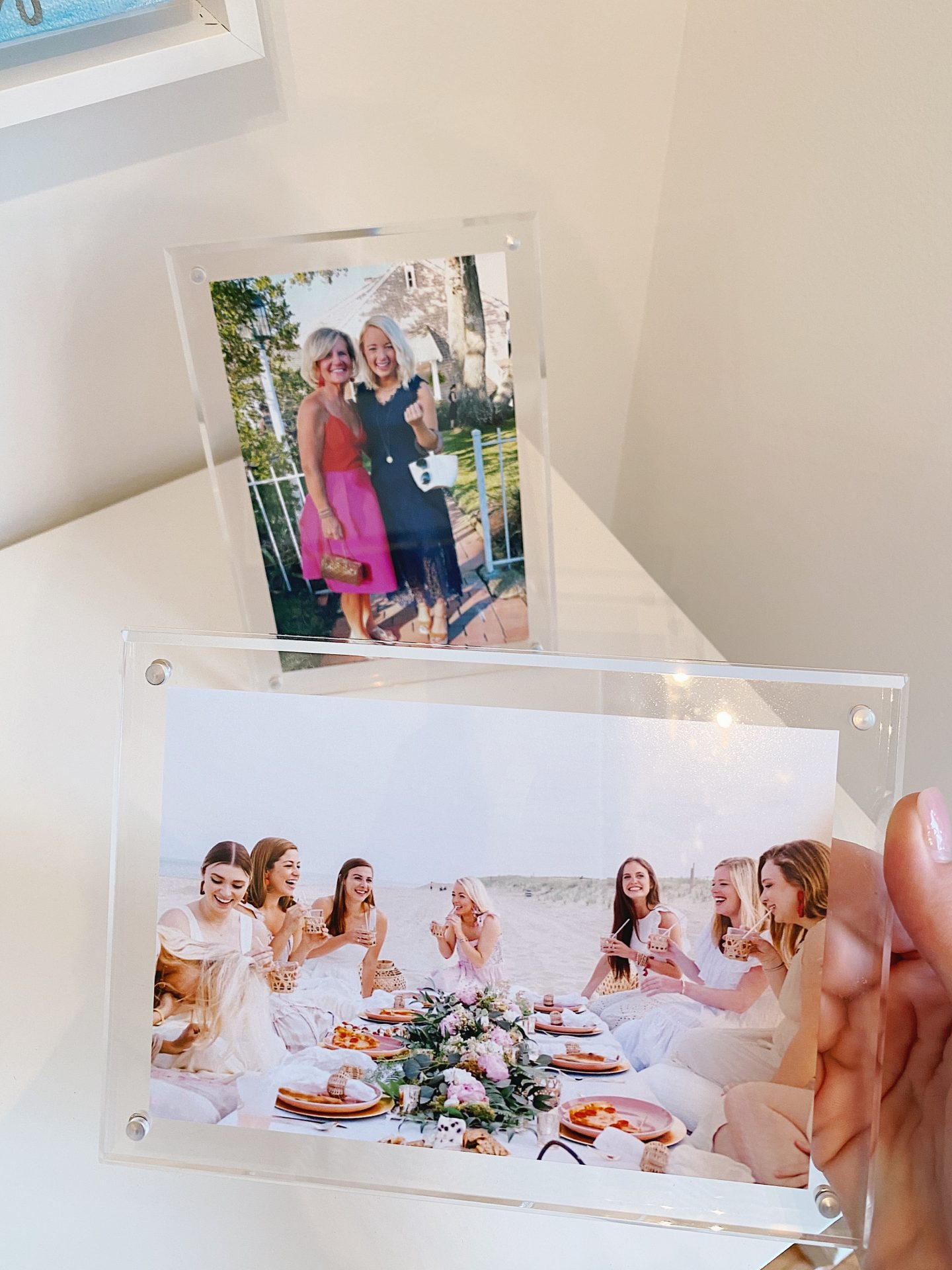 Amazon Prime Home Décor Finds Acrylic Picture Frame