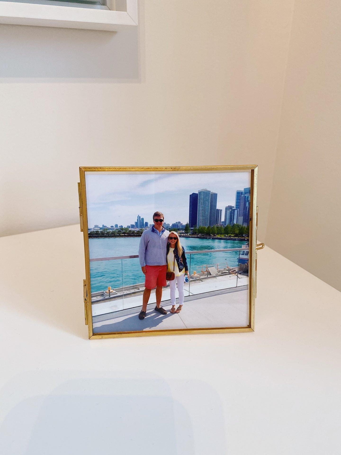 Amazon Prime Home Décor Finds Antique Gold Locket Picture Frame