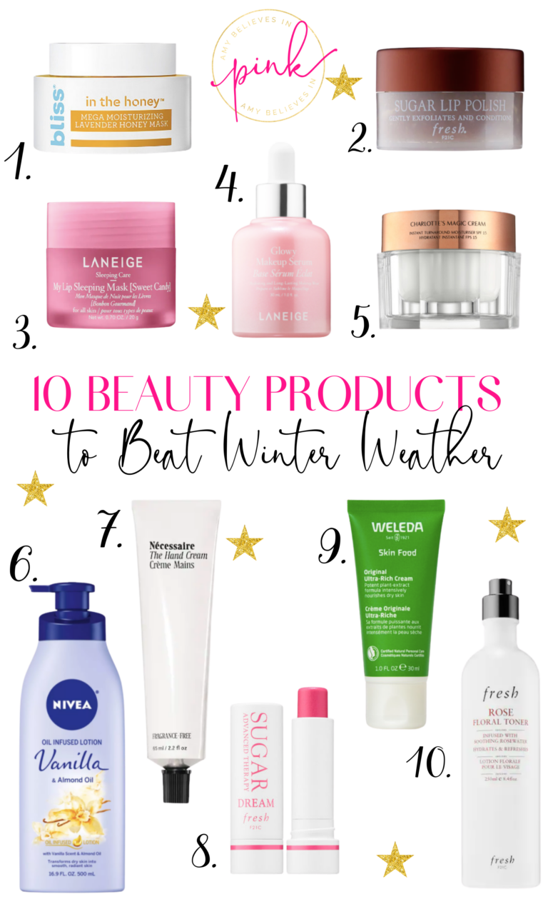 10 Beauty Products to Beat Winter Dryness