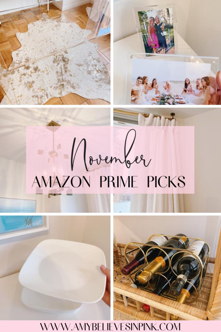 Amazon Prime Home Décor Finds