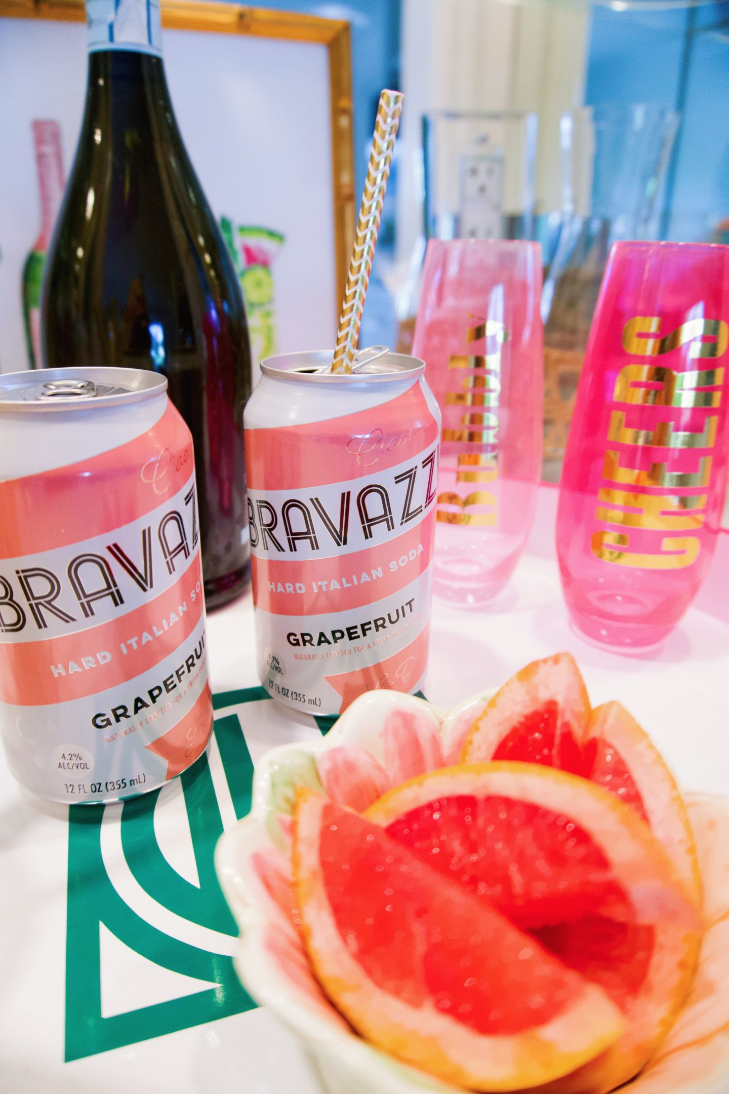 Bravazzi Hard Italian Soda New Year's Eve