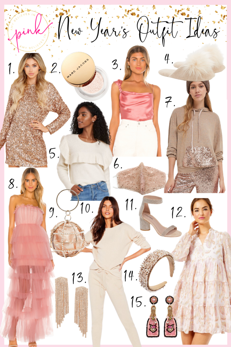 New Year's Eve 2020 Dressing Ideas
