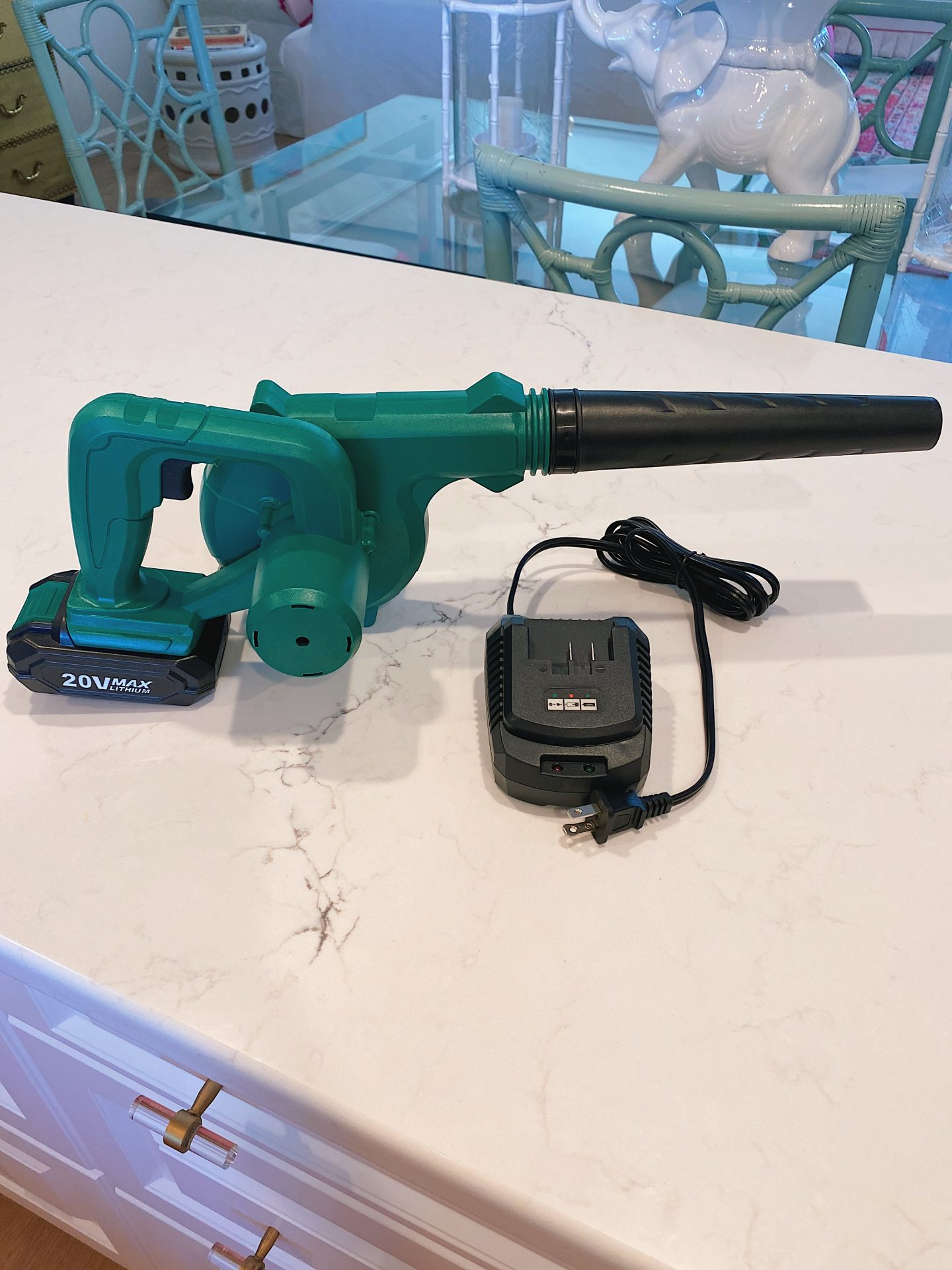 Amazon cordless leaf blower/vacuum