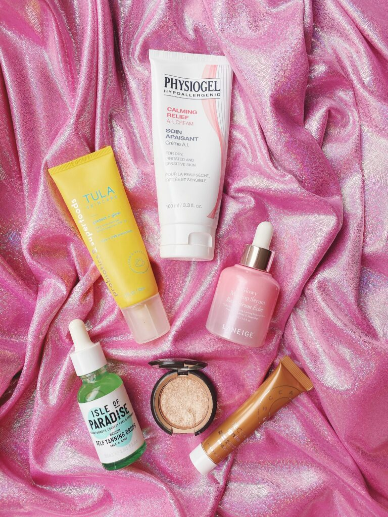 5 Product I Use for Glowy Skin 1