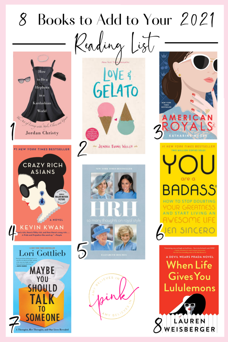 8 Books to Add to Your Reading List in 2021