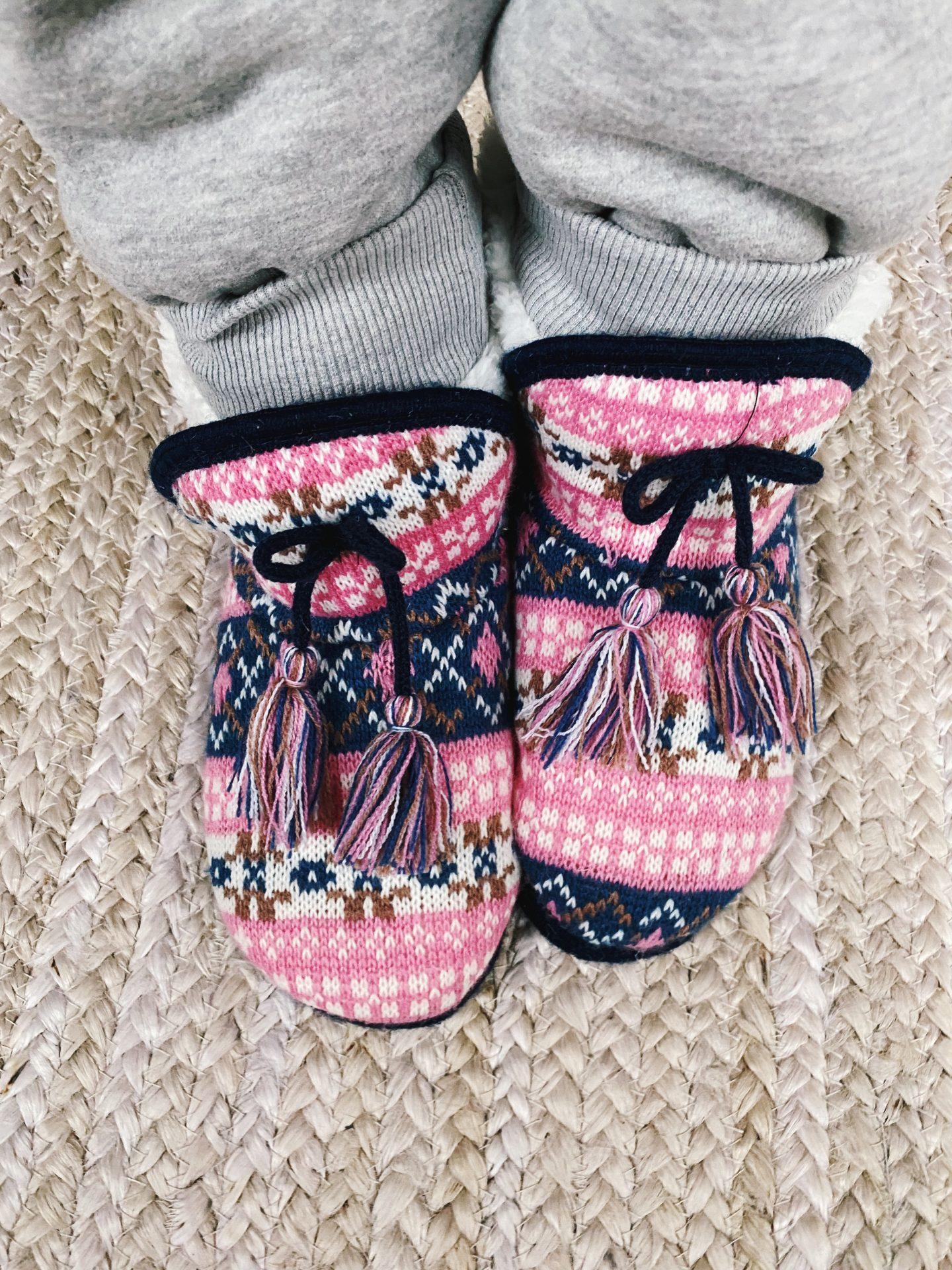 Amazon knit slipper booties
