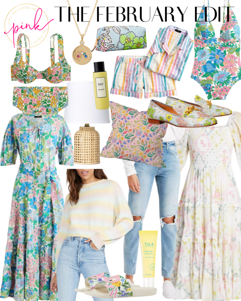 The February Edit spring trends 2021