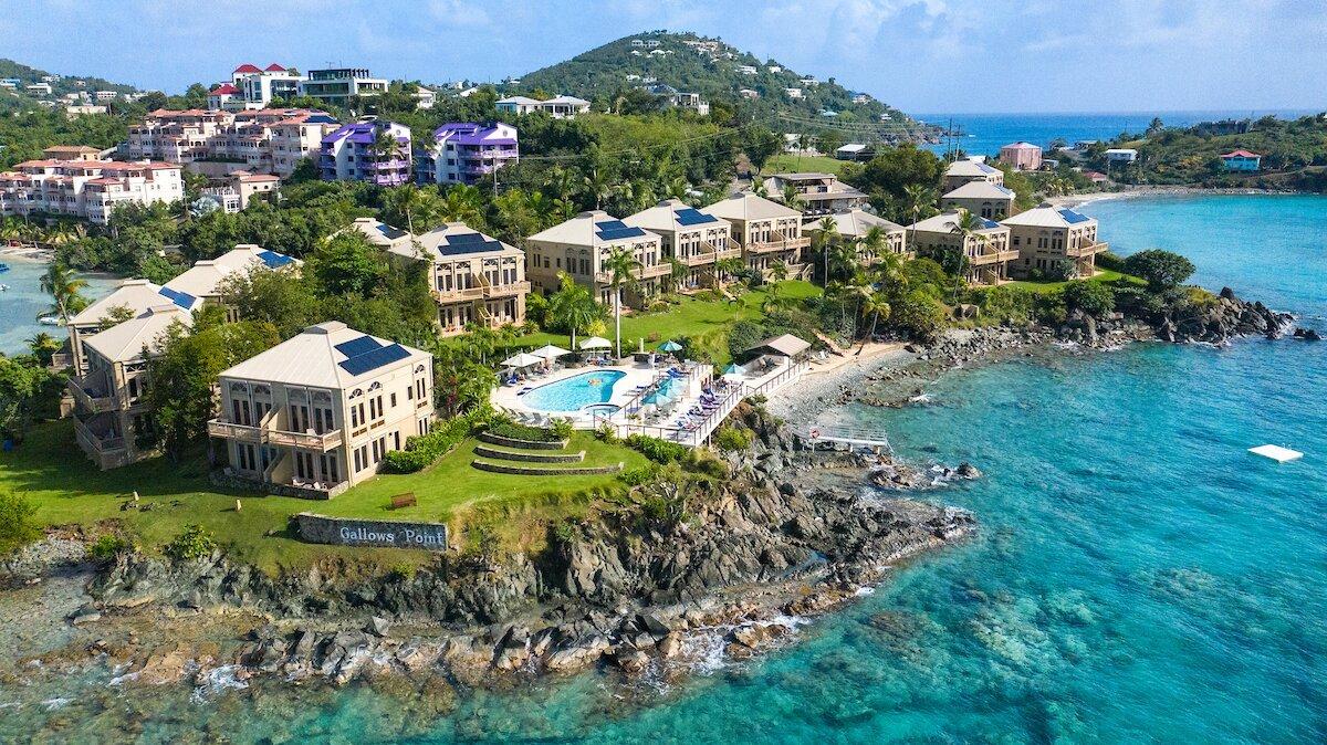 Gallow's Point Resort on St. John, USVI