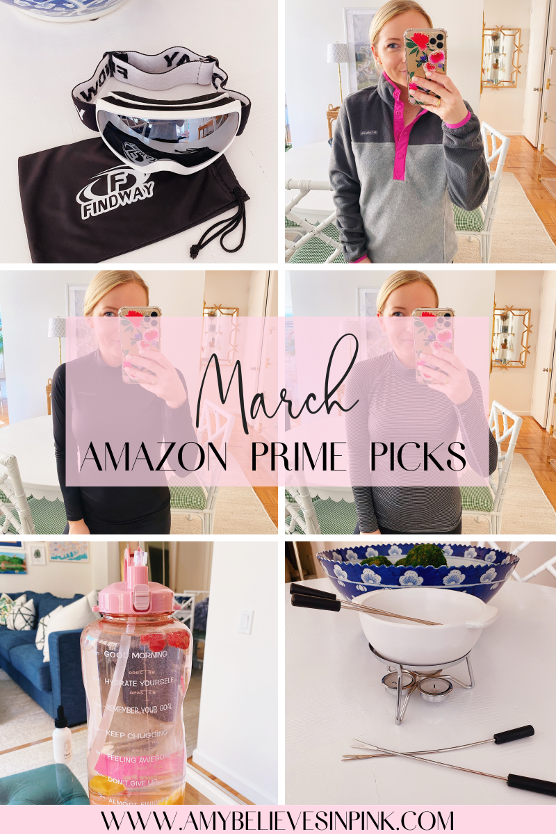 March Amazon Prime fashion and home finds