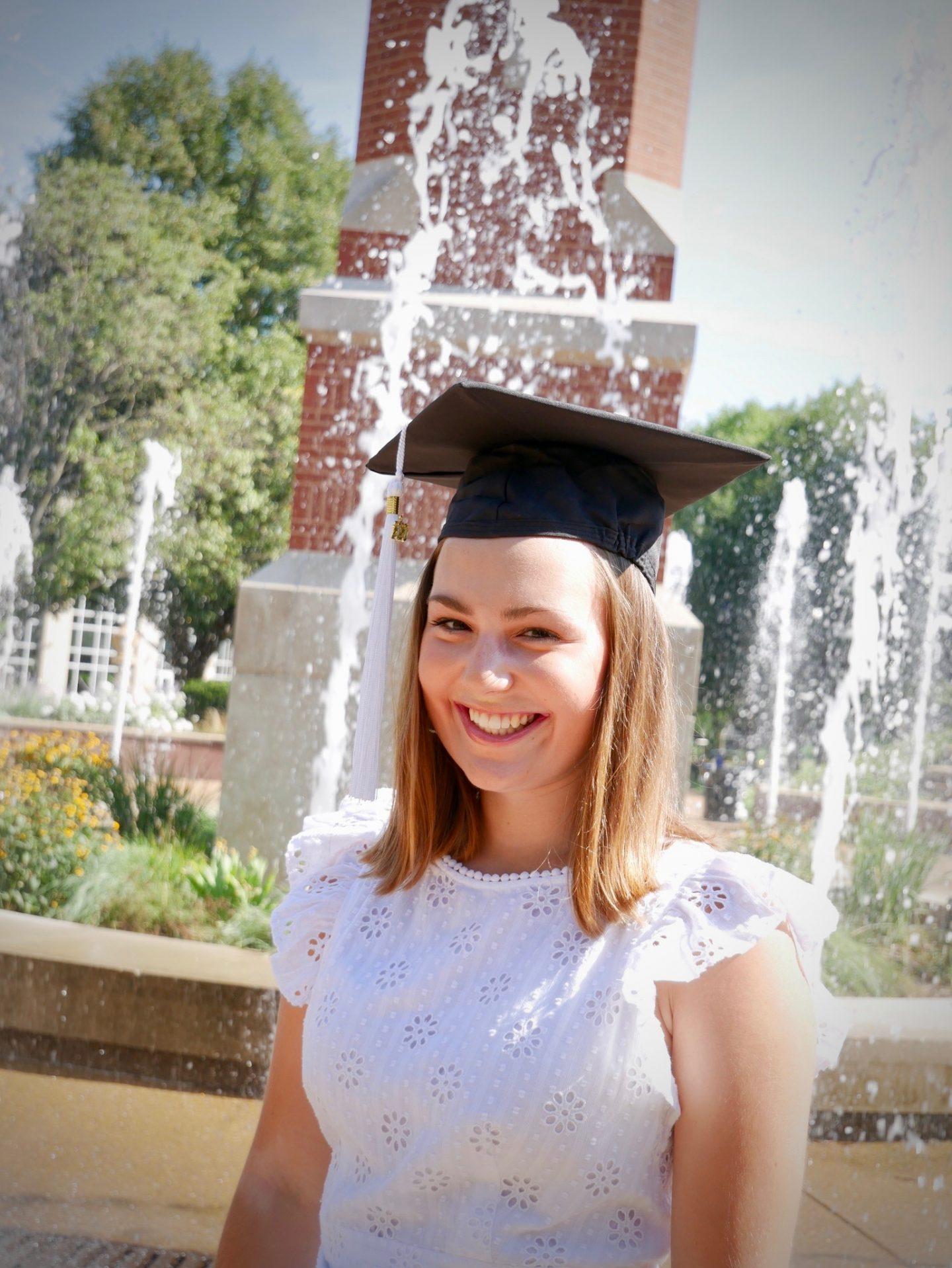 Olivia Graduation Photo