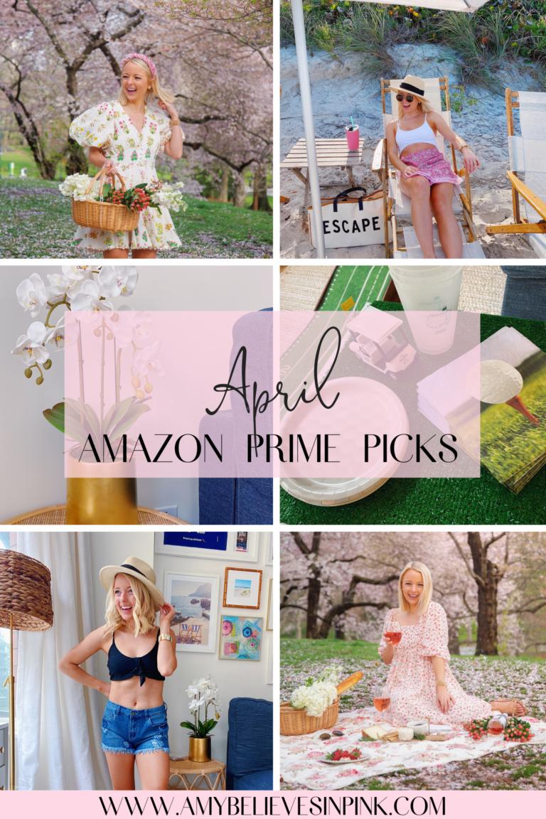 April Amazon Prime Picks