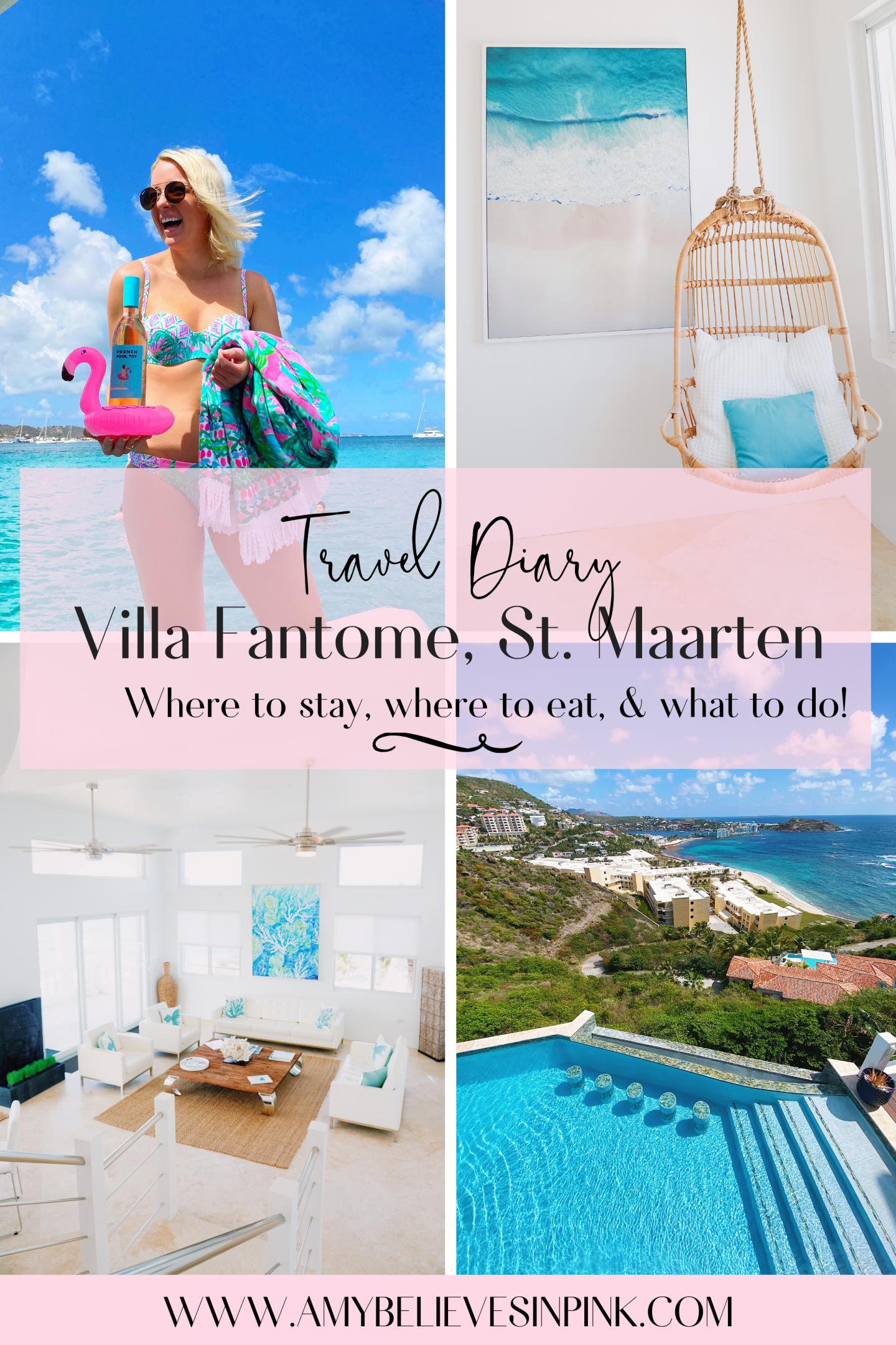 Travel Diary Villa Fantome St. Maarten