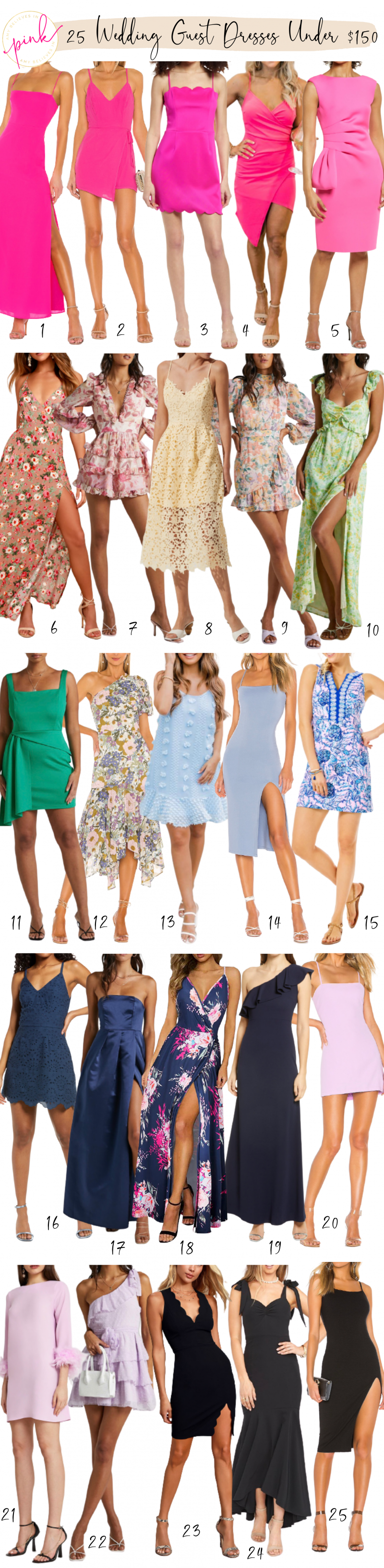 25 Wedding Guest Dresses Under $150