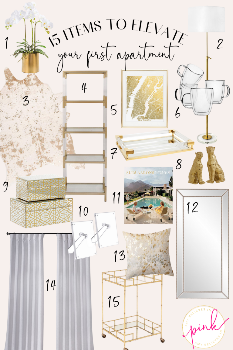 15 Items to Elevate Your First Apartment