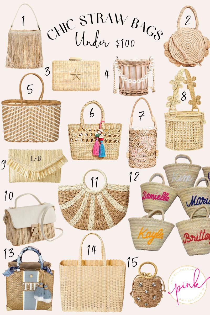 Chic Straw Bags Under $100