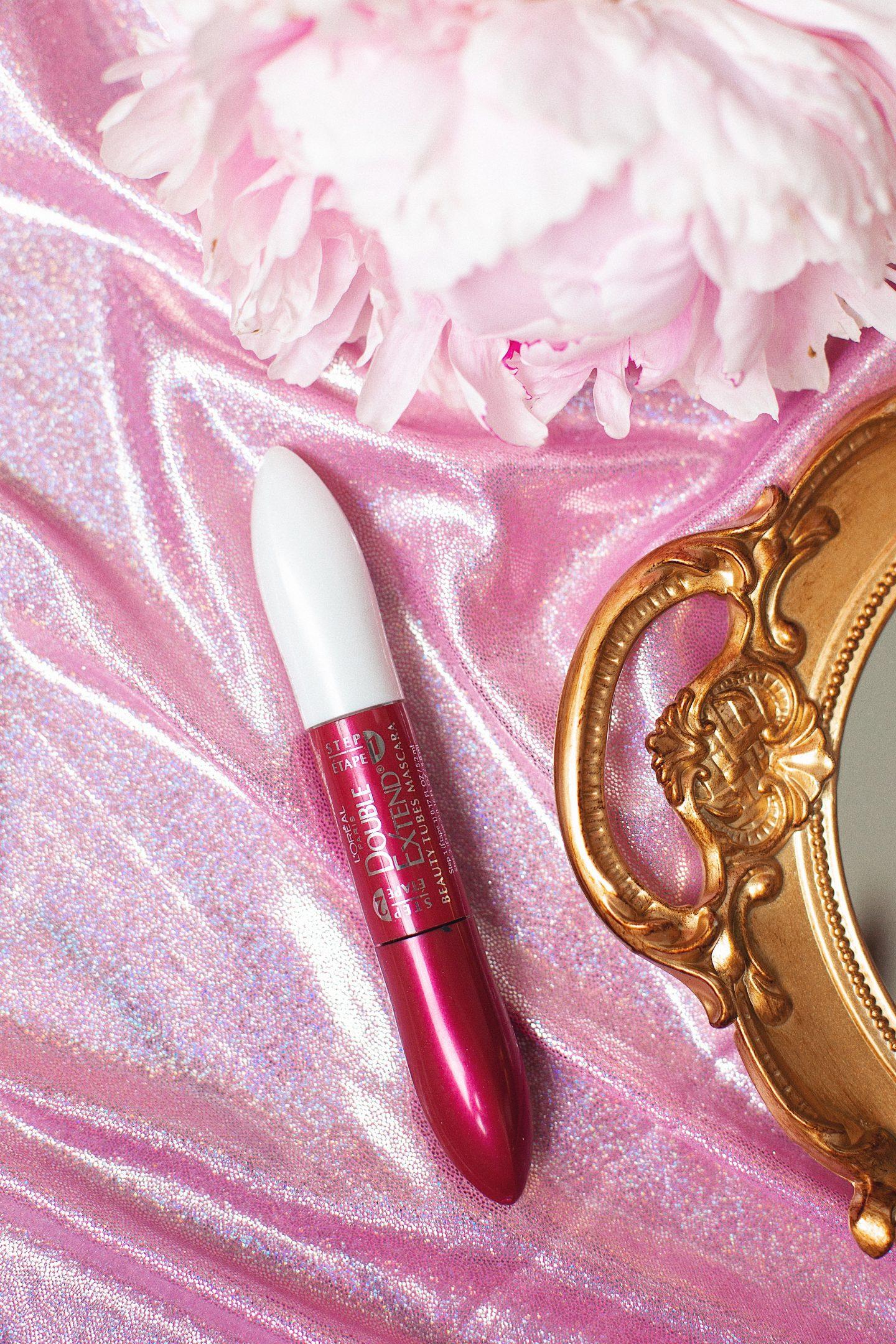 L'Oreal Paris Makeup Double Extend Beauty Tubes Lengthening 2 Step Mascara