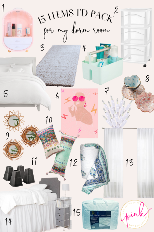 15 Items to Pack for Your Dorm Room