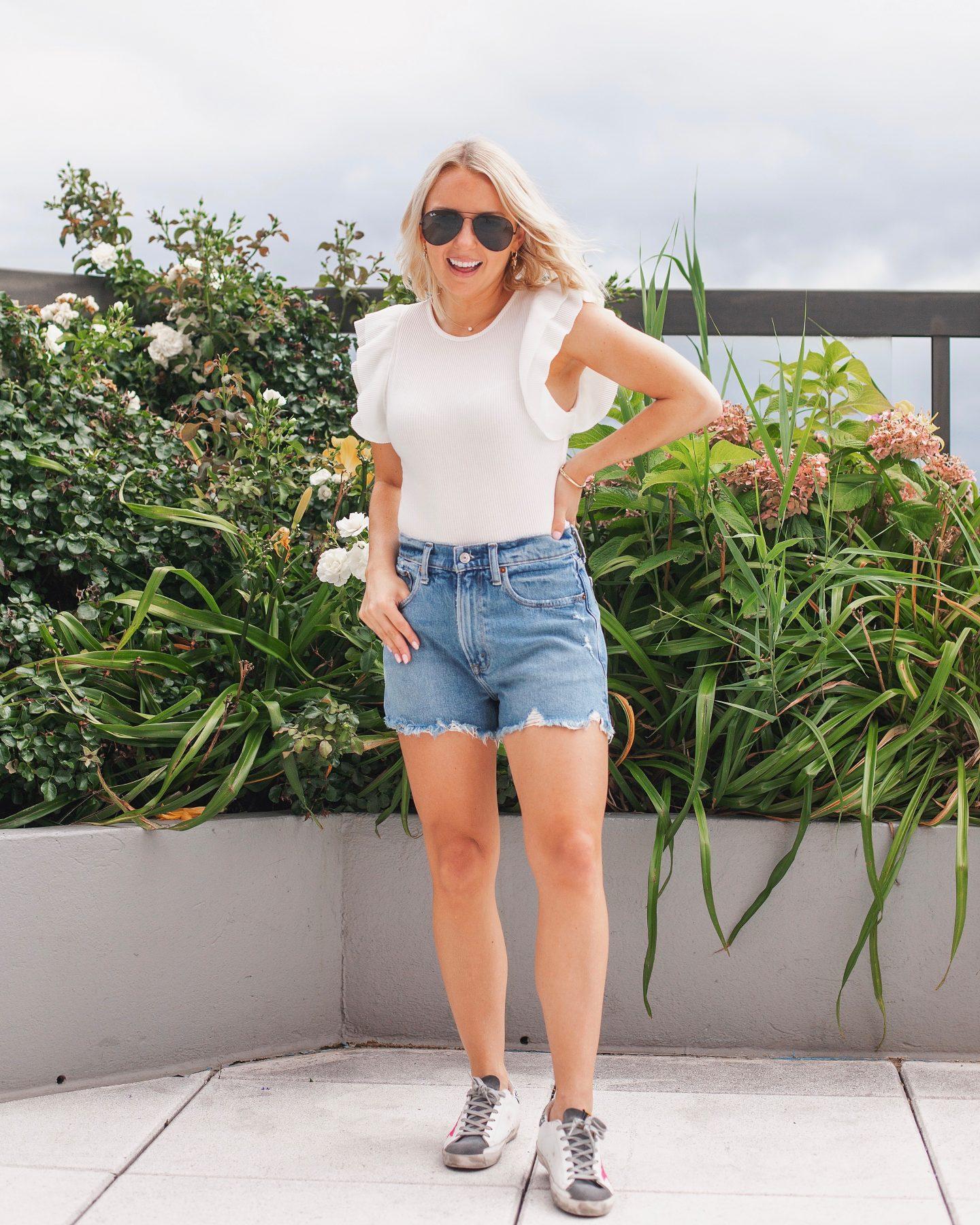 Abercrombie Jean Shorts vs Agolde Jean Shorts Review