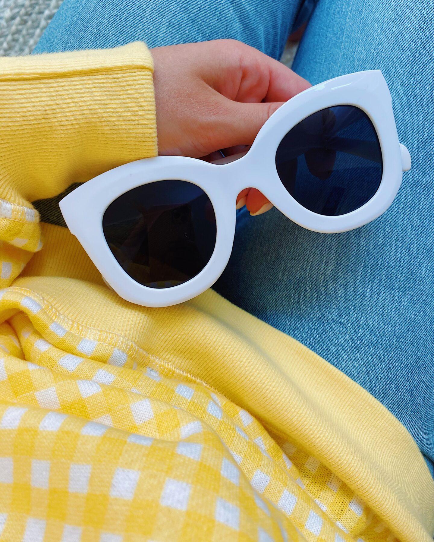 Butterfly Semi Cat Eye Sunglasses