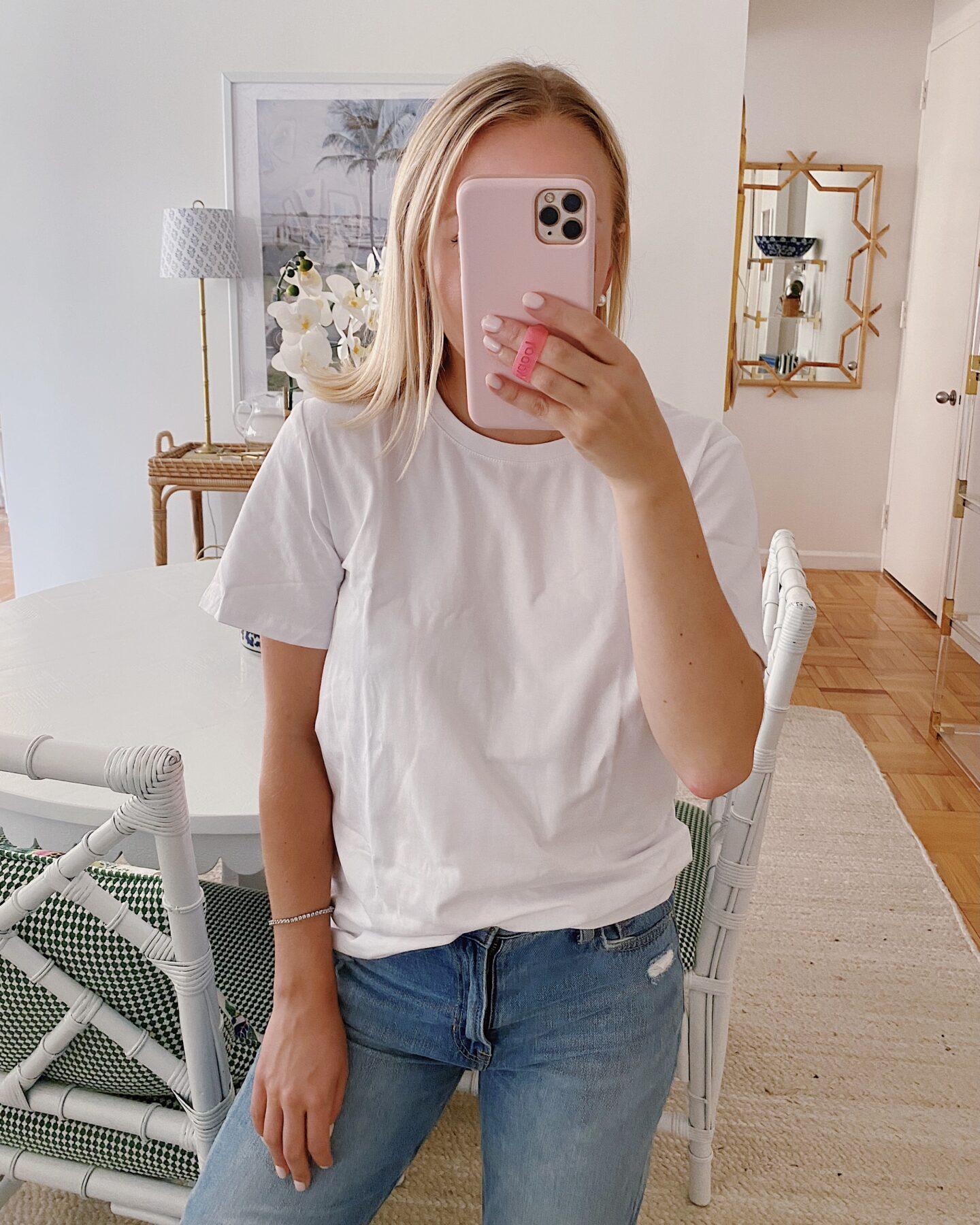 Loose Short Sleeve Crewneck T-Shirt