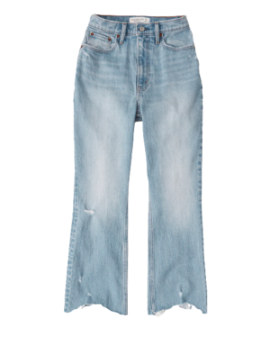 Abercrombie Curve Love Ultra High Rise Kick Flare Jeans