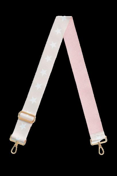 Blush:White Star Bag Strap