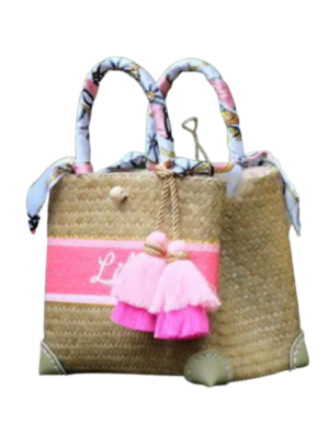 Etsy Personalized Straw Bag