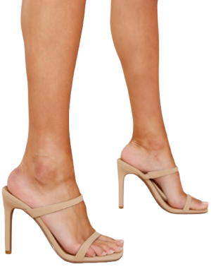Red Dress Boutique Nude High Heel Sandals