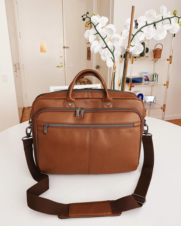 Amazon Samsonite Classic Leather Briefcase