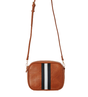 Striped Camera Bag