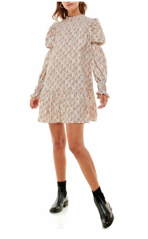 Wayf Rovigo Floral Long Sleeve Minidress