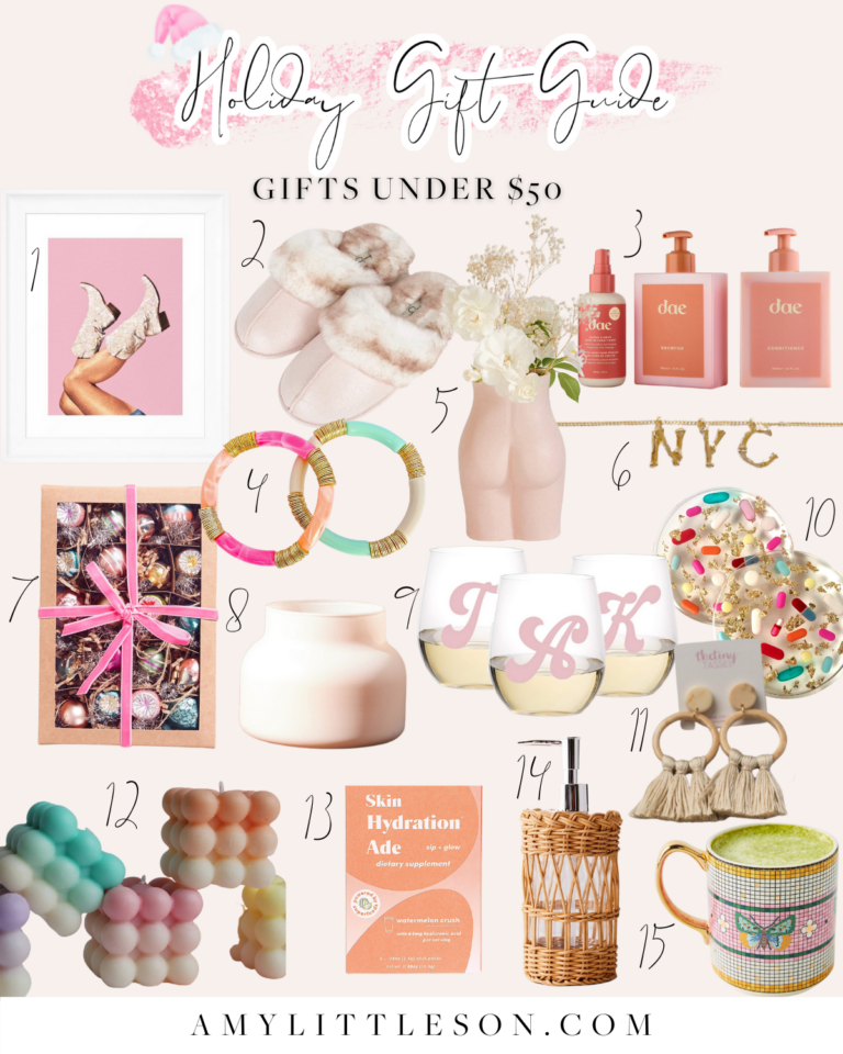 Holiday Gift Guide Gifts Under $50