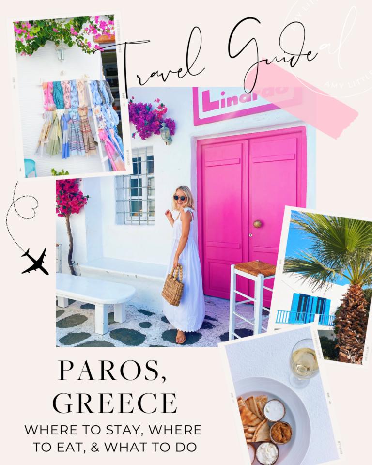 Travel Guide for Paros, Greece