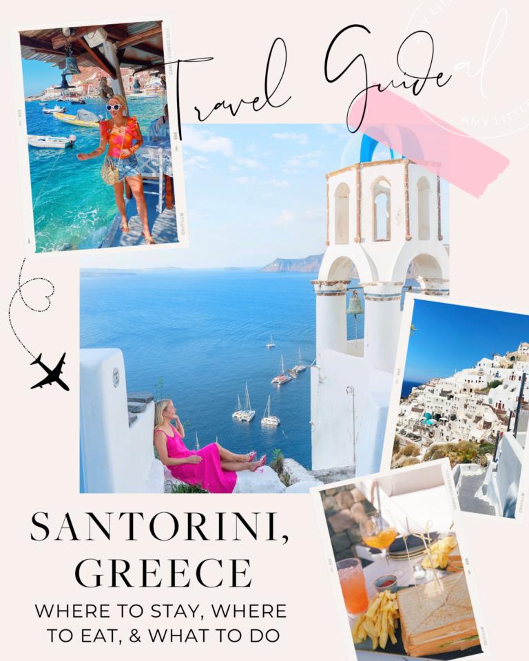 Travel Guide for Santorini, Greece