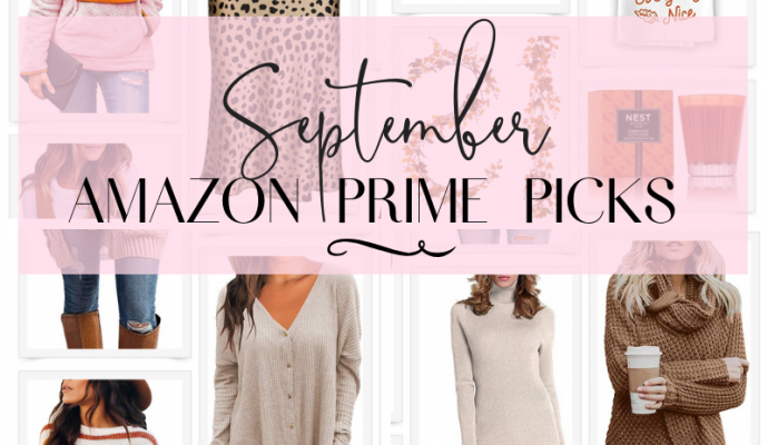 September Amazon Prime Picks: What You're Shopping For